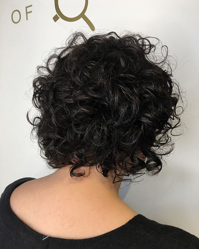 Curls! Curls! Curls! Curly bob done by Art Director Lisa! Styled with all Kevin Murphy curl products! Call (773)-248-1114 or visit streetsoflondonsalon.com to book your next appointment!