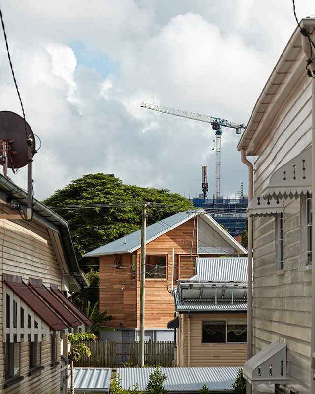 Thanks to @brisbanenewsmagazine &  @michellebailey_ for running a handsome piece on our One Room Tower project [Issue 1214 Feb 20-26]. . . . One Room Tower is a small residential infill proposal for Brisbane's inner city enclaves. The projects seeks to honor and 'belong' to its immediate and broader context within the City. First to the backyard it occupies, as a Site within a Site. Then to the original house as neighbour and ultimately to the textures and tectonics of the 'West End Soup' in which it is located. . . .  @yohei.omura  @silvia_micheli41  @ant4030 @christopherfrederickjones @gregthorntonconstructions . . . #oneroomtower