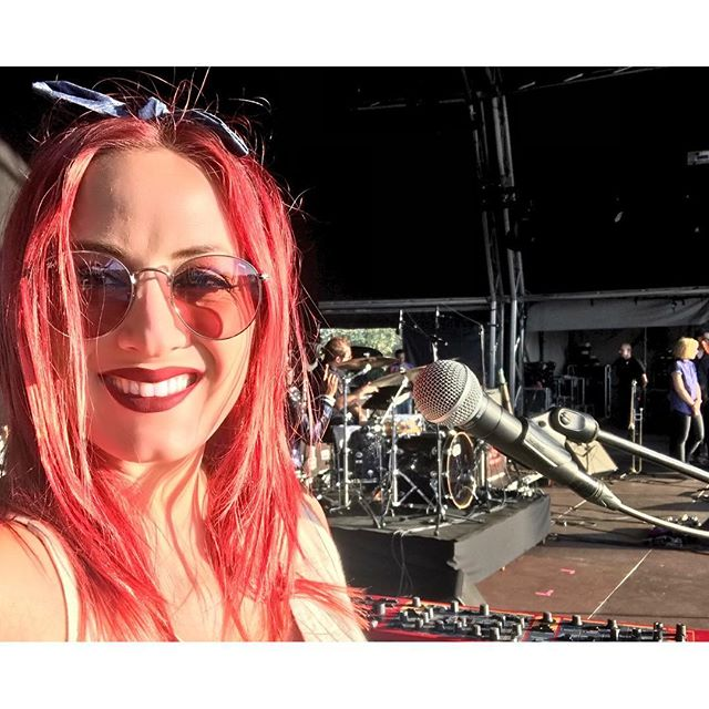 I'm full swing in festival season! ...and pretty stoked to be putting new music out in the world very VERY soon😊😌🙌🏼🙆‍♀️ Maybe I'll be playing my own festival show one of these days 😉 #summer #festivalseason #musicfestival #newmusic #comingsoon #blessings