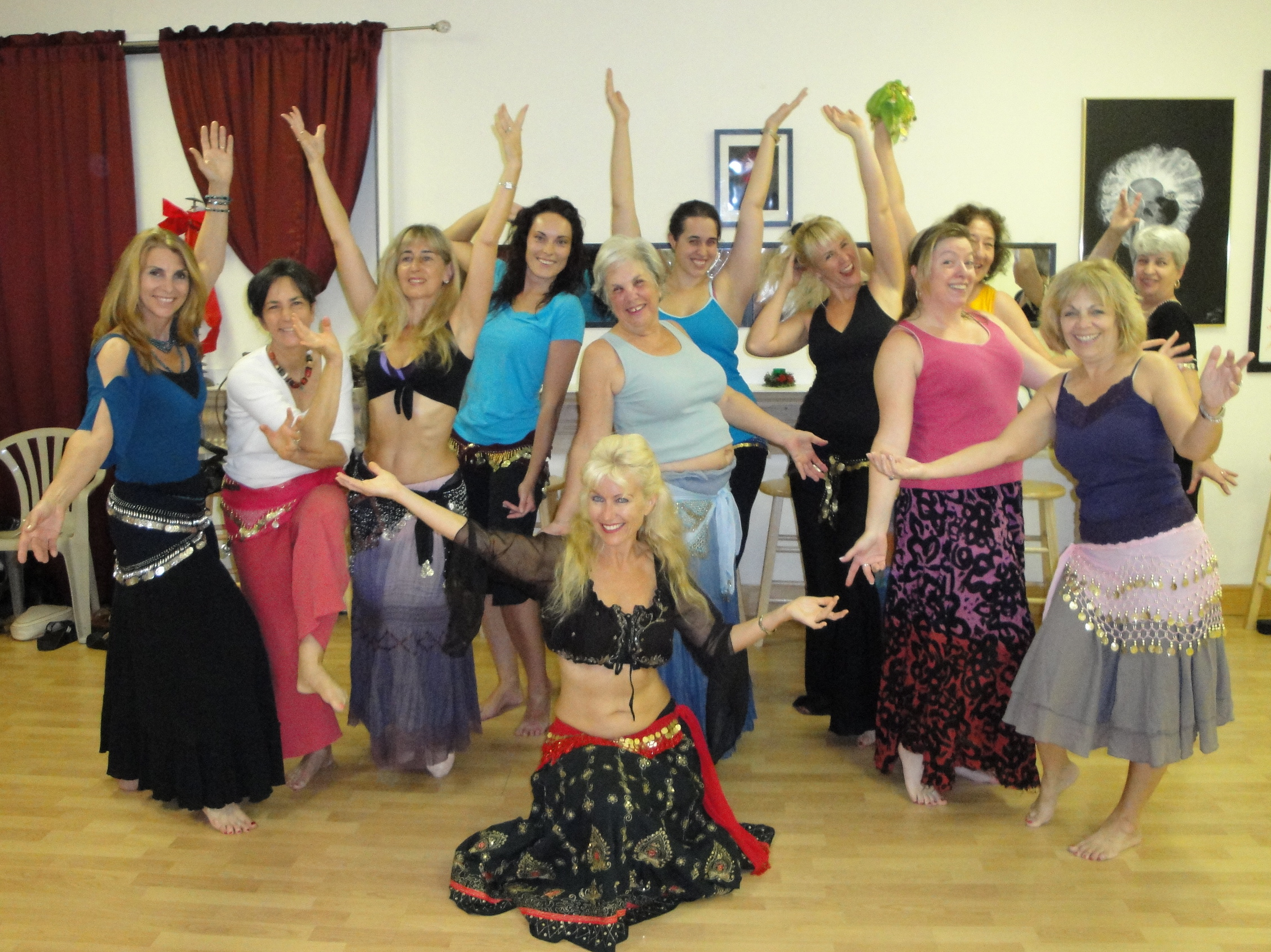 Learn the ancient magical art of Belly Dancing in Sarasota with Tahja!