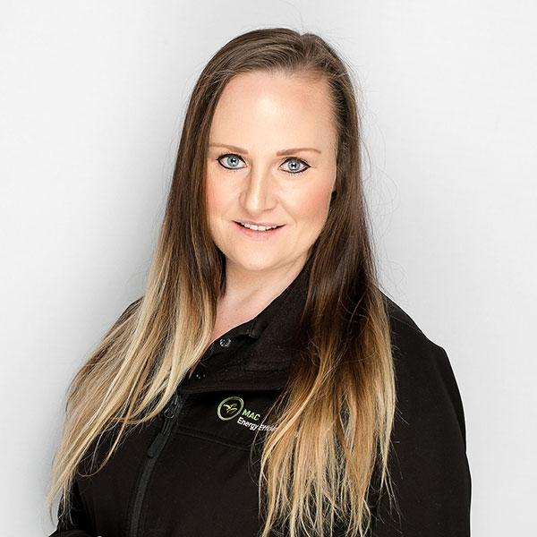 Kelly Naisbitt  Operations Manager   Kelly has over 12 years experience working in the solar, energy and gas industry. She has dedicated much of this time in managing trades related administration training and installations of hot water, heating/cooling, solar power and energy efficient appliances.    She brings a wealth of industry and distributor knowledge to the MAC team. As Operations Manager of the VIC and SA branches, Kelly specialises in MAC energy efficiency reporting, data analysis, compliance support and managing client services.