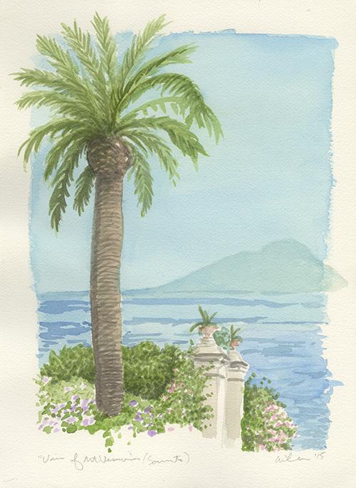 View of Mt. Vesuvio (Sorrento).jpg