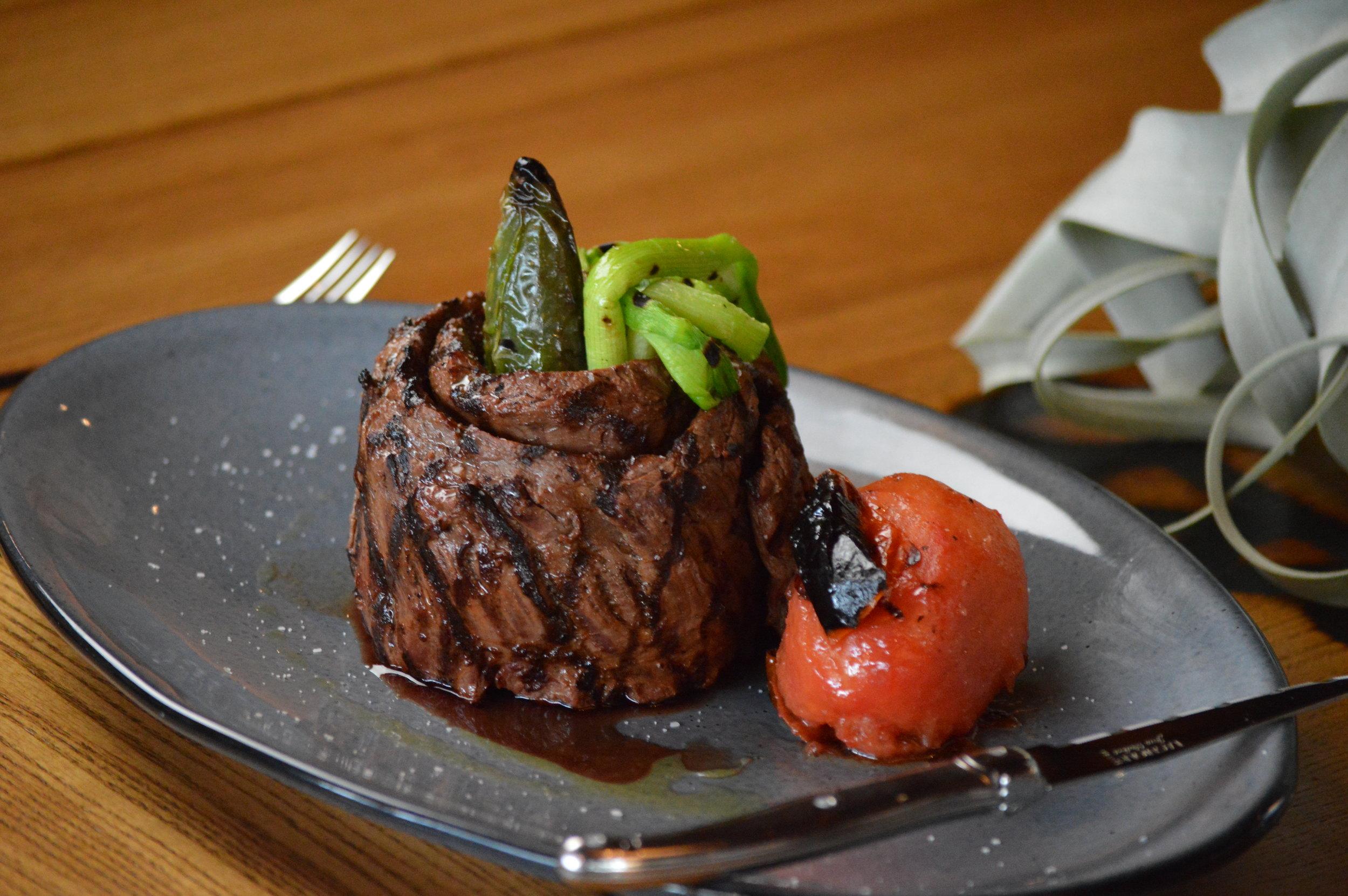 Grilled Outside Skirt Steak