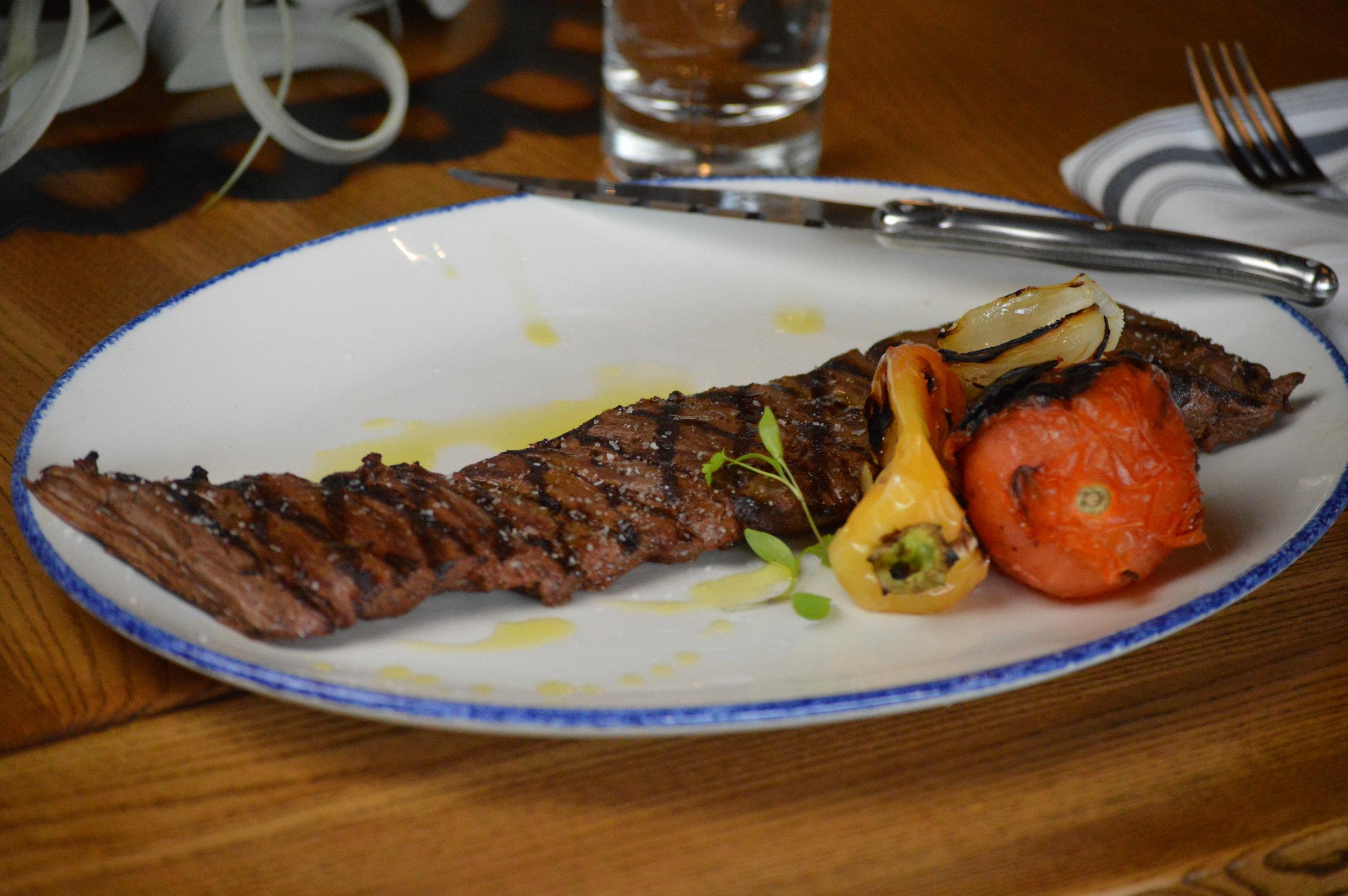 Grilled Beef Outside Skirt Steak