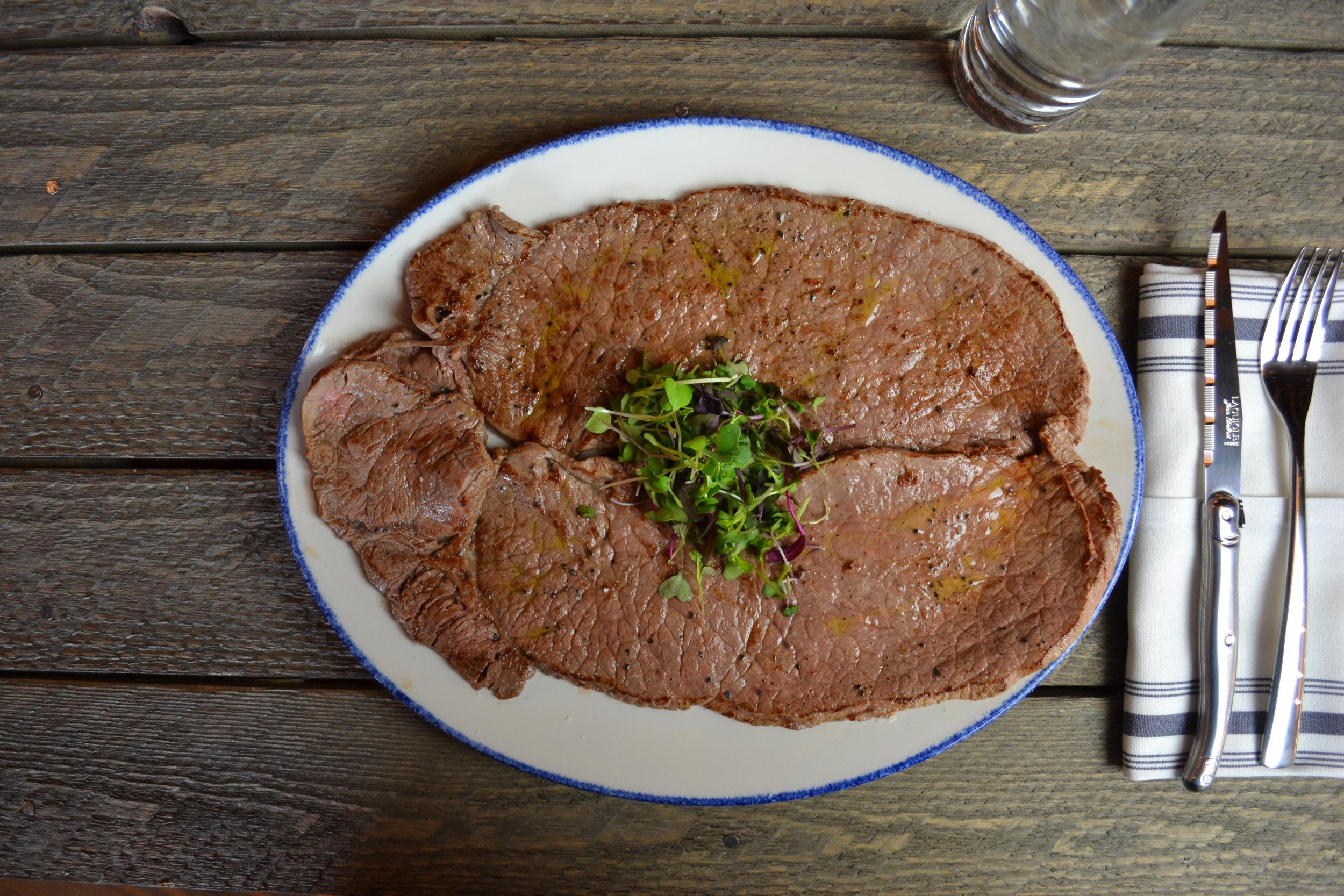 Beef Top Round Steak