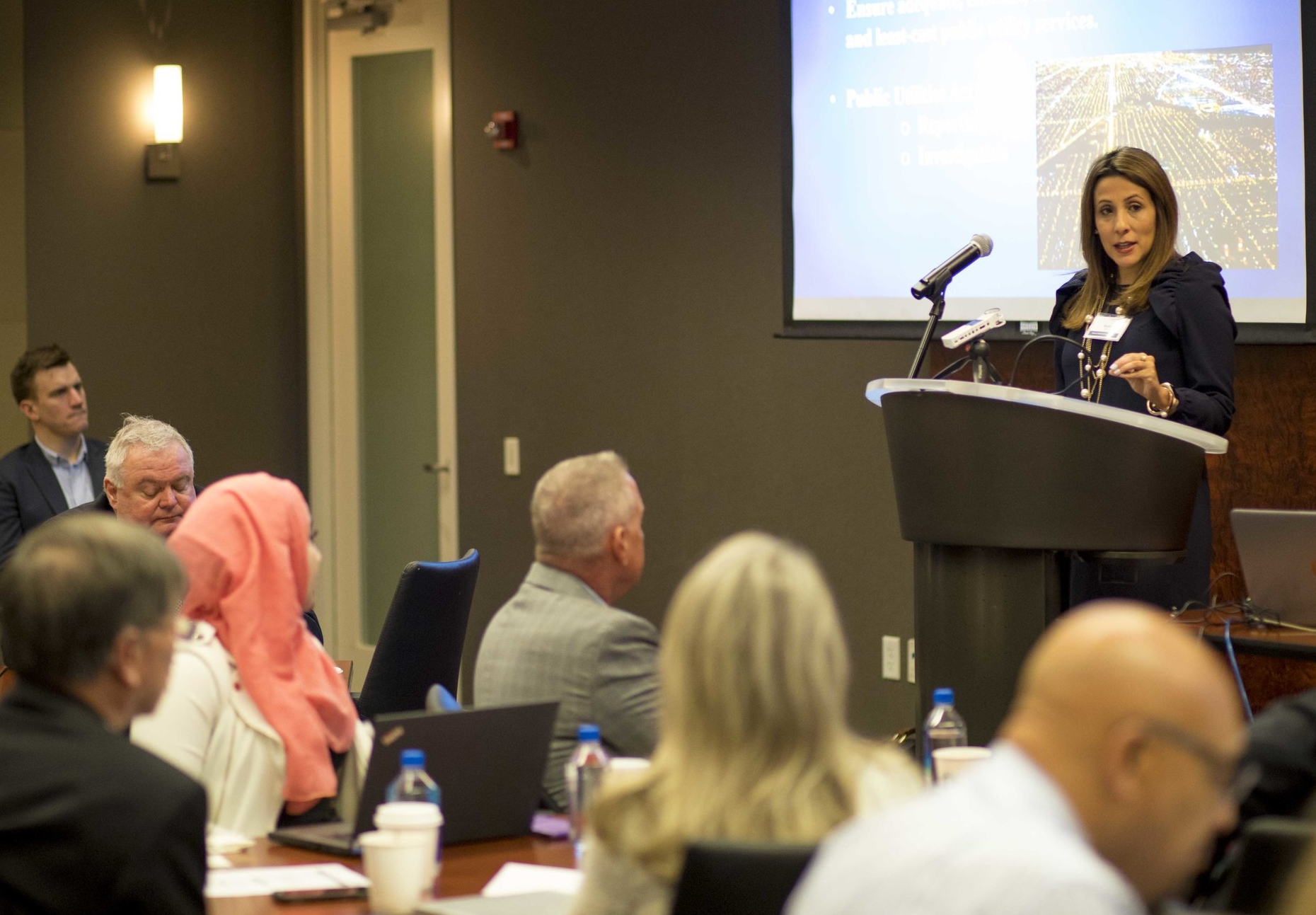Sadzi Martha Oliva, Commissioner, Illinois Commerce Commission