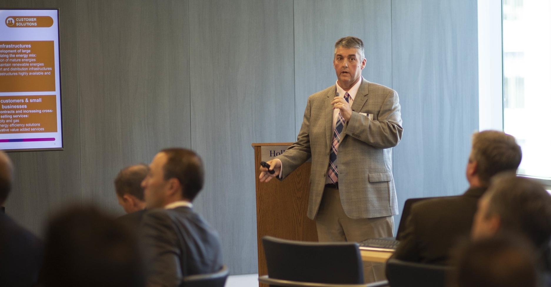 Joe Dalton, Project Director, MATEP LLC/Longwood Medical (ENGIE)