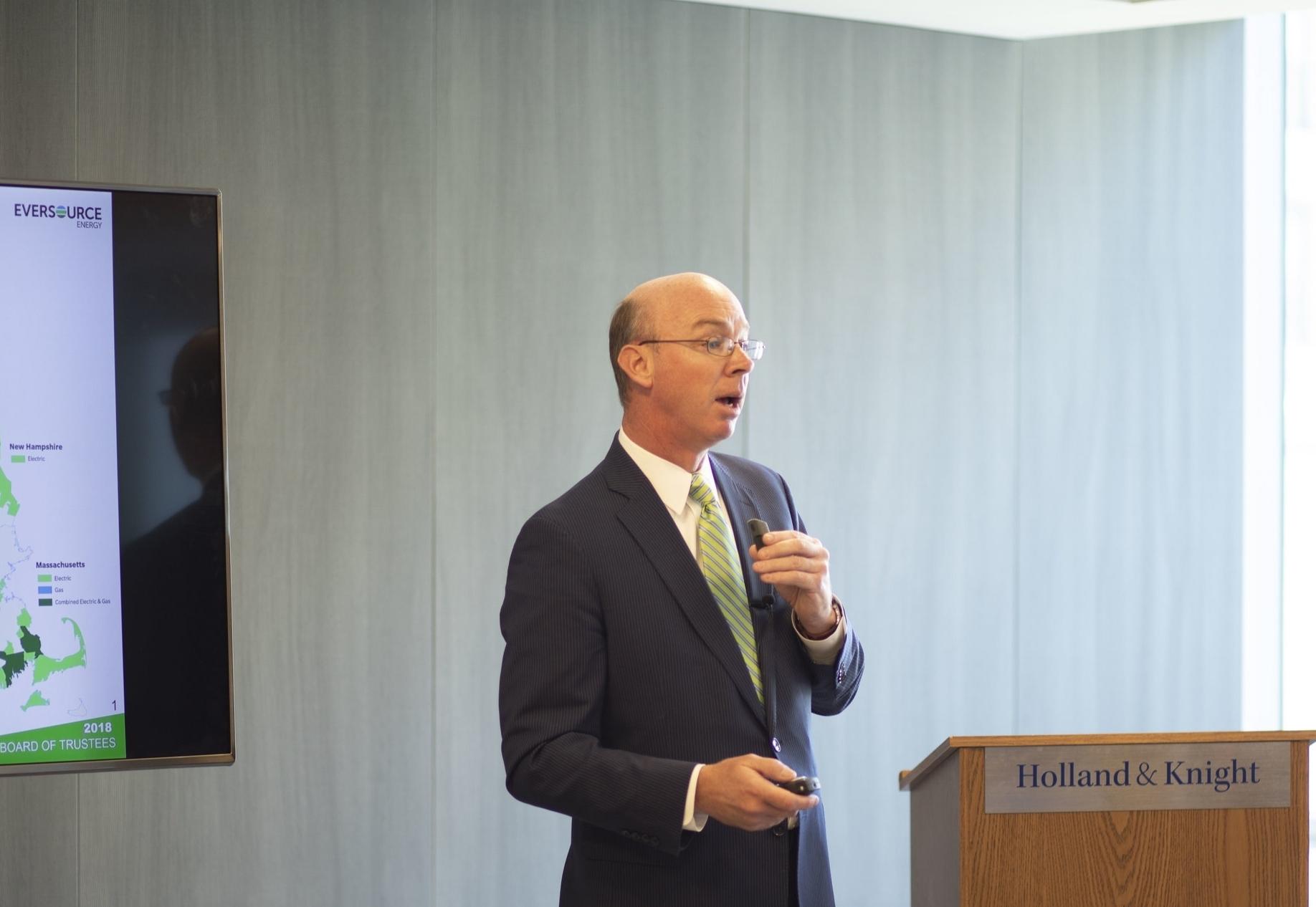 Jim Hunt, SVP, Eversource Energy