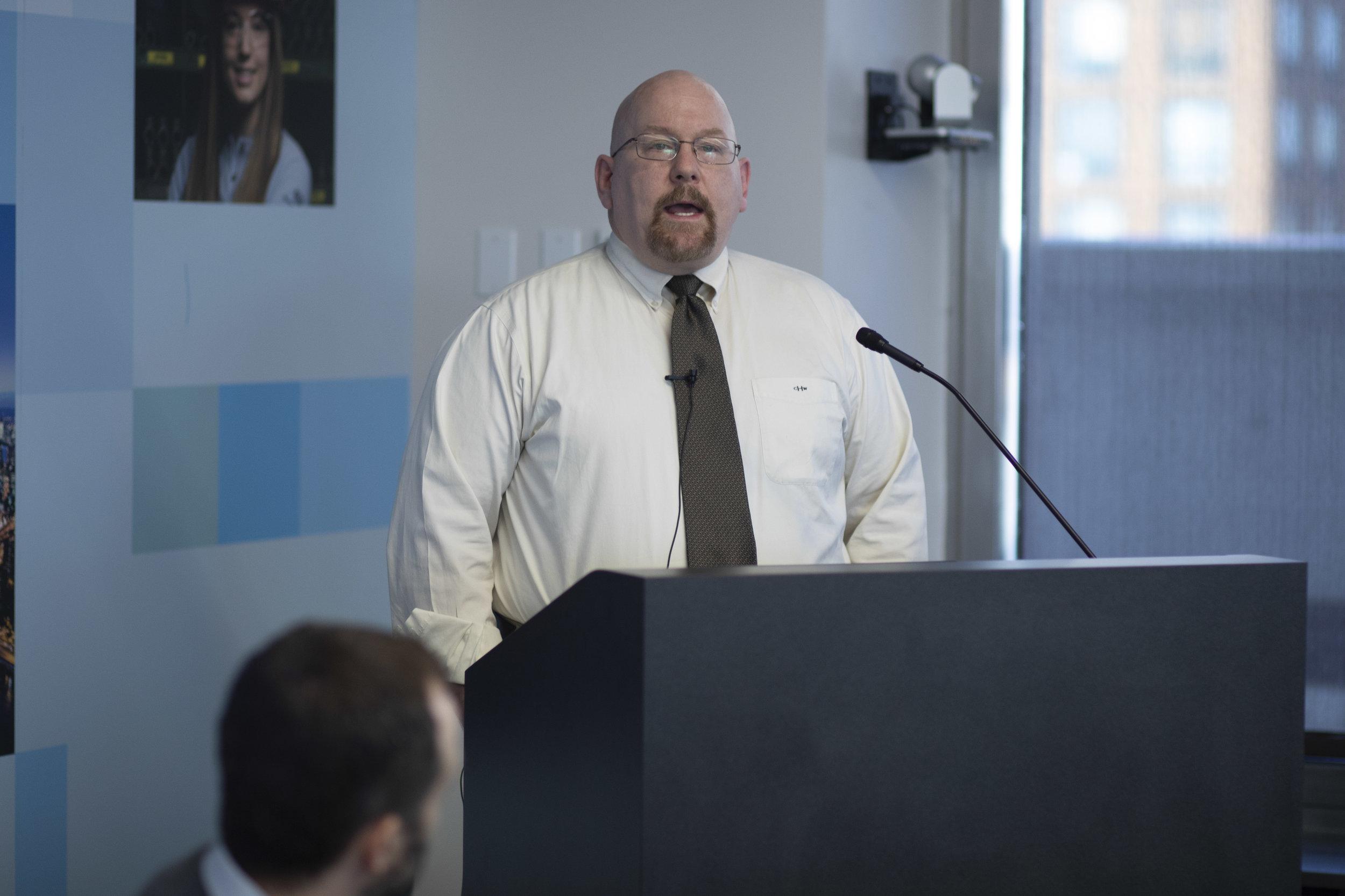 Charles Hermann, Senior Engineer for Energy Services Product Development, New York Power Authority