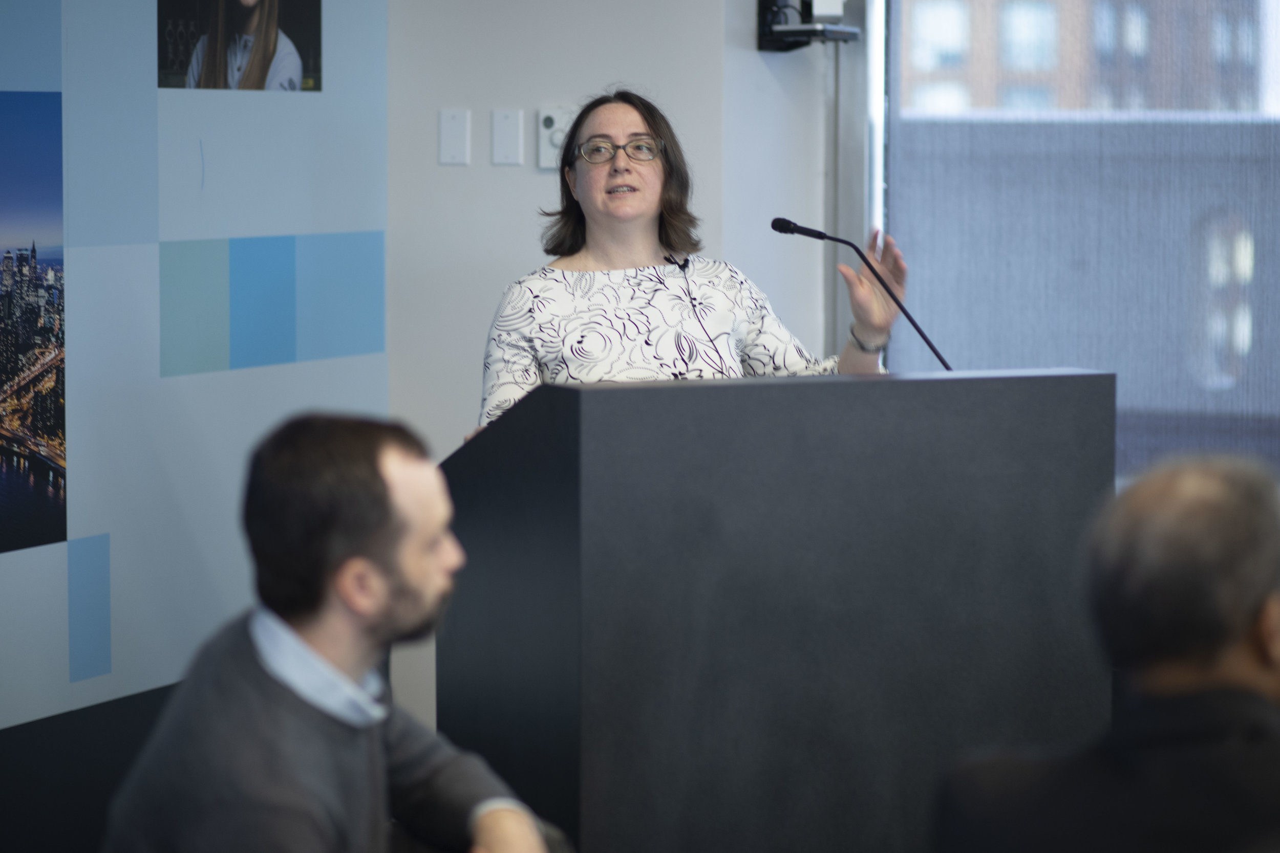 Susanne Des Roches , Infrastructure and Energy at the NYC Mayor's Office of Resiliency