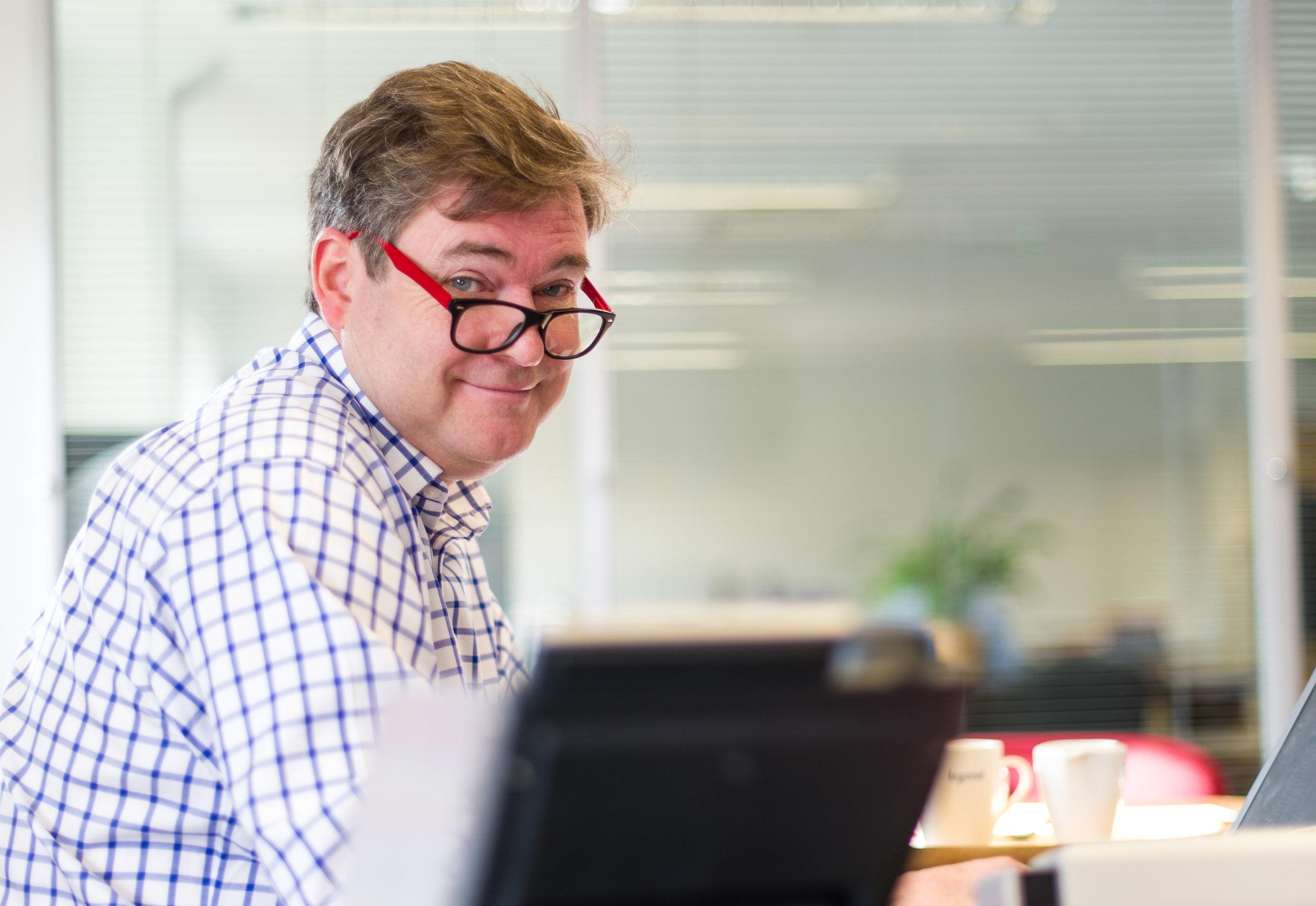 Stephen Smallwood, Managing Director of Bridge3 and Thorne Widgery.