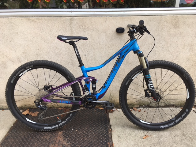 '14 Giant Lust 2, X-Small, $1400, LIKE NEW!!