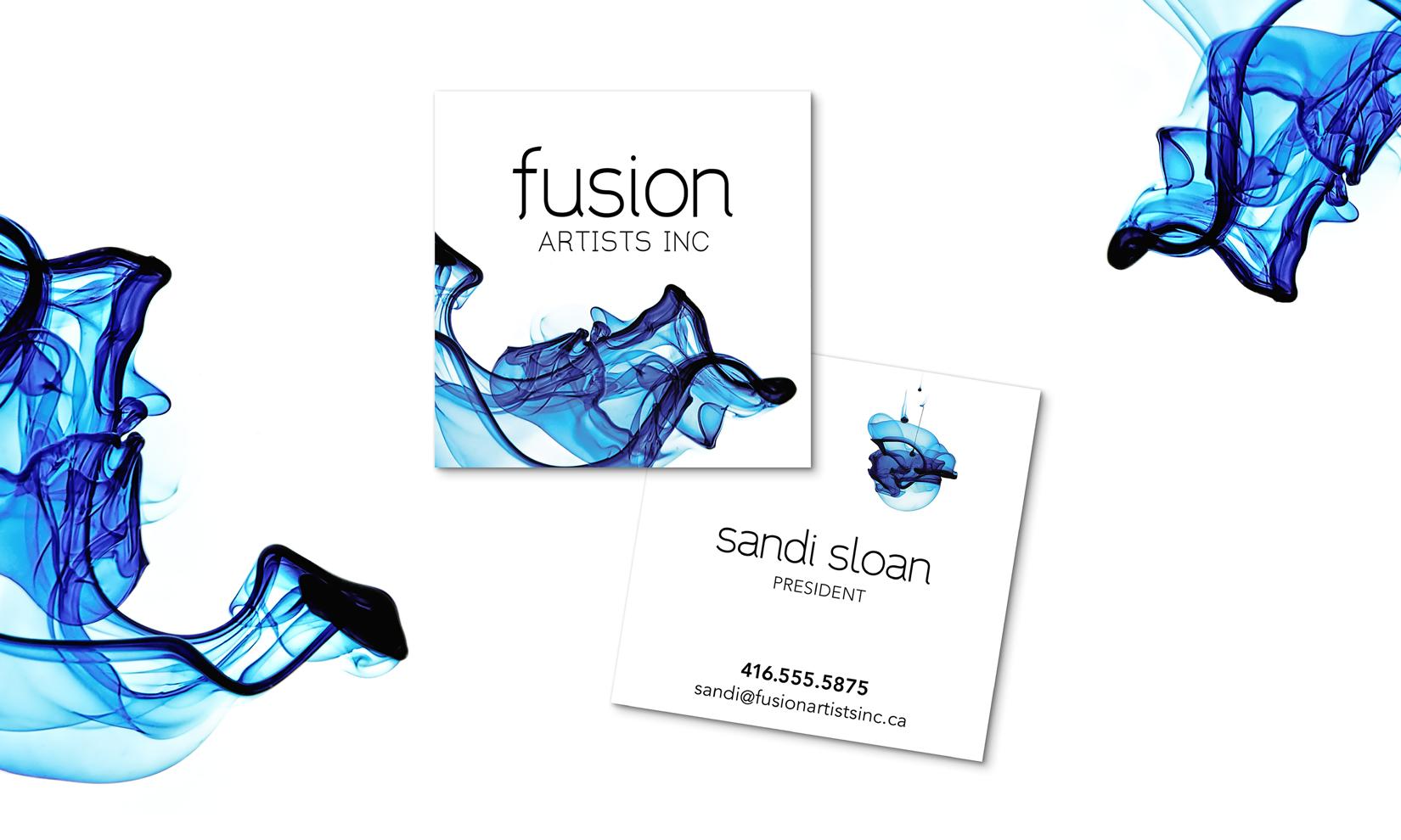Personal brand design creative professionals - Fusion Artists