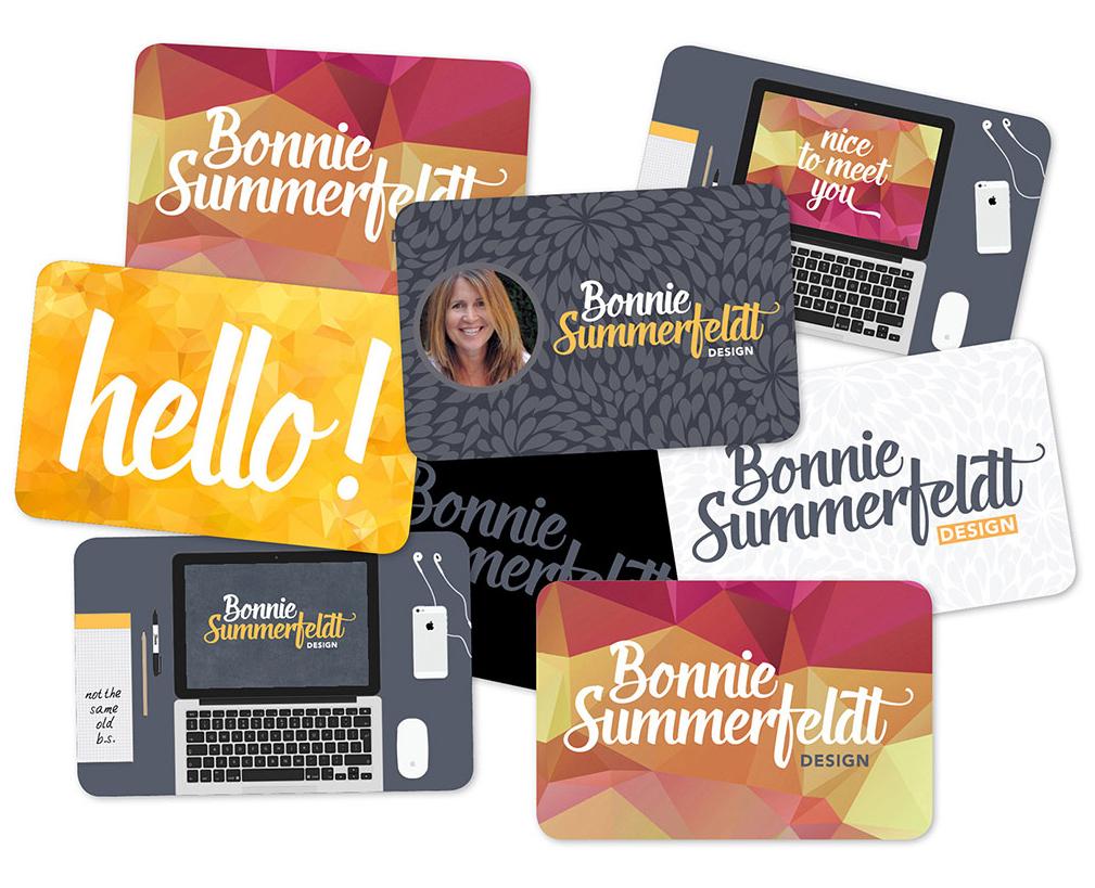 Bonnie Summerfeldt business card design printed by Moo.jpg