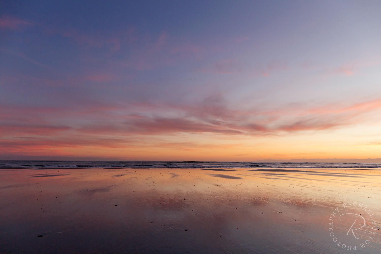 Sunrise North Beach, Westport, West Coast New Zealand