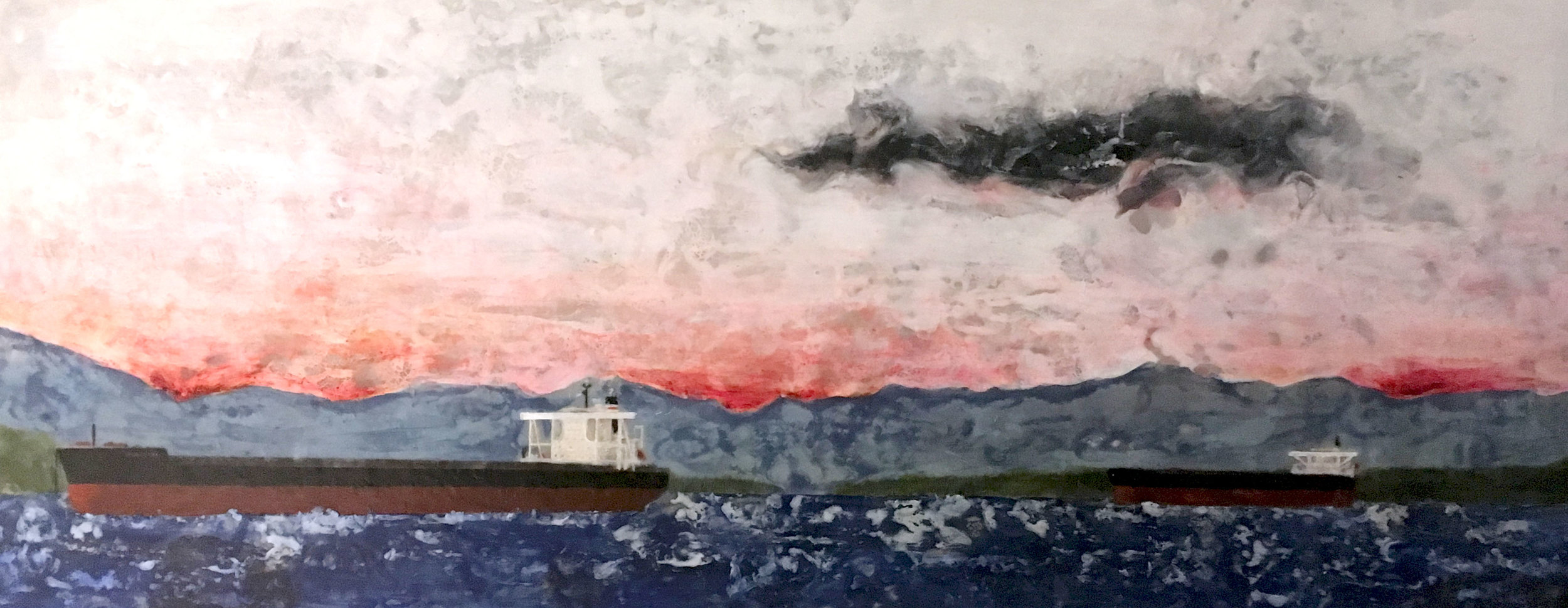 Tankers at Saxe Point (2018)