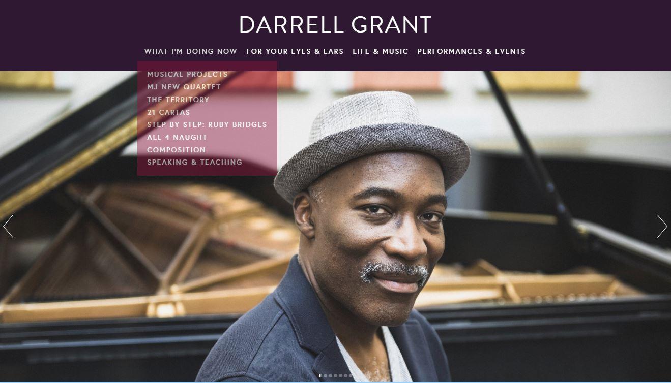 Darrell Grant, Jazz Pianist