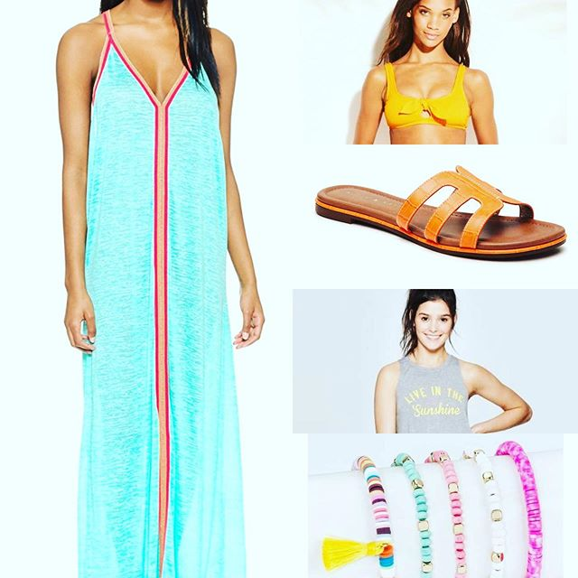 Summer is almost here! Check out my summer must-haves! Click link in bio. #stylist #under100 #favoritethings #favorites #favorite #summer #summeroutfit #summertime #colorpop #colorpoplife #musthaves #musthave #vacay #packing #fashionstylist #poolside #pool #poolparty #summeressentials #swim #swimsuit #swimcoverup #sandals #accessories #bathingsuit #swimwear #swim #swimsuit
