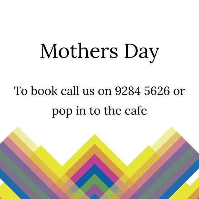 MOTHER'S DAY BOOKINGS  That's right, we are taking bookings for breaky/brunch...limited spots available so get in quick! . . . #gillstcafe #perthcafes #perthcafe #perthdrinks #perthcoffee #coffeeinperth #perthpop #perthlife #instagood #supportyourlocal #supportlocalperth #perthfoodies #urbanlistperth #broadsheetperth #ozeatingwa #perth #zomatoaus #perthpop #perthlife  #perthdaily #perthinstagram #perthbreakfast #perthgram #perthstagram #wheretothissunday #breakfastinperth #neighbourhoodcafe #supportyourlocal #supportlocalperth #perthmothersday
