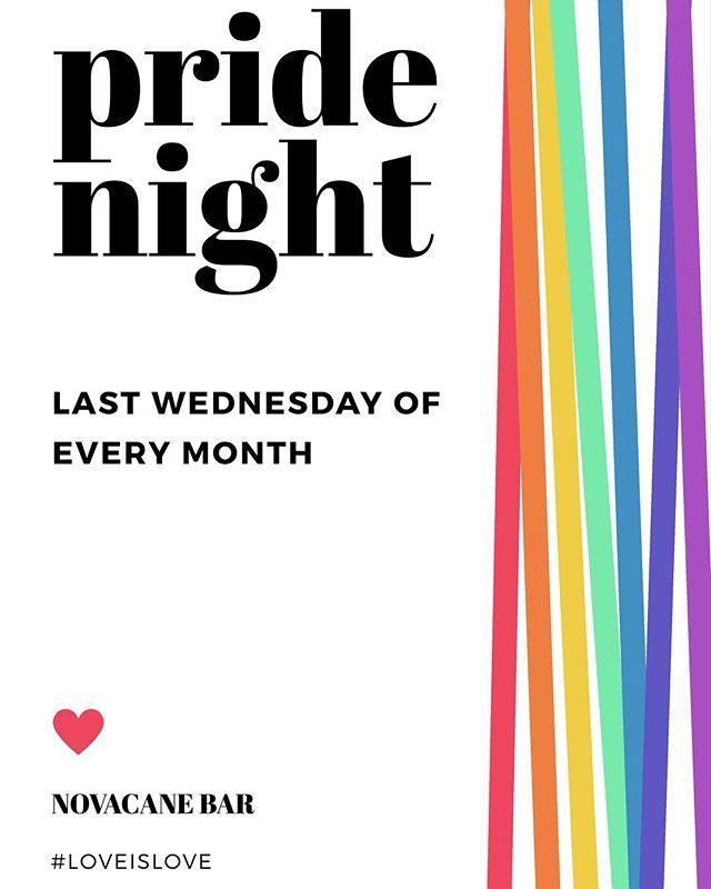 🌈 Starting July 26th. ✨ Stay tuned for our special creations! #novacane #novacanebar #huntingtonpark #losangeles #drinklocal #loveislove #lgbt #lgbtq #pride #pridenight #craftbeer #cocktails #vegetarian #vegan
