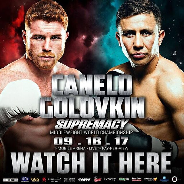 Tonight is le night! #canelovsggg 🥊‼️$25 cover charge‼️🥊