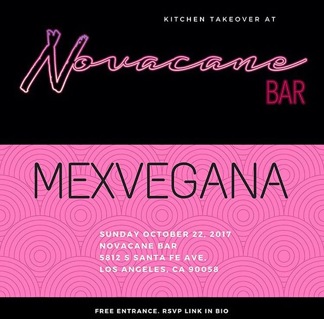 Hey guys! We haven't had a kitchen take over in awhile! But brace yourself for this Sunday's take over with @mexvegana_ 💘 Check out her menu!