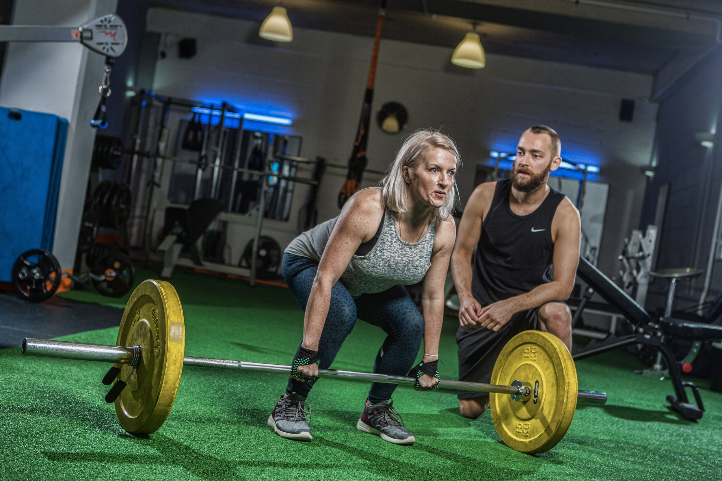 The dead lift is the boss of strength building lifts!