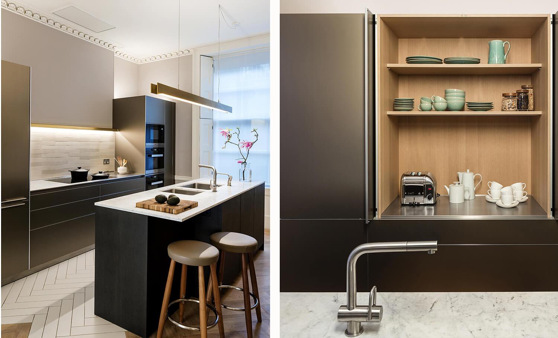 Emily Bizley Interior Design London House Kitchen detail