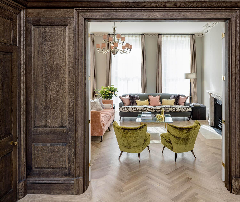 Emily Bizley Interior Design London House Snug