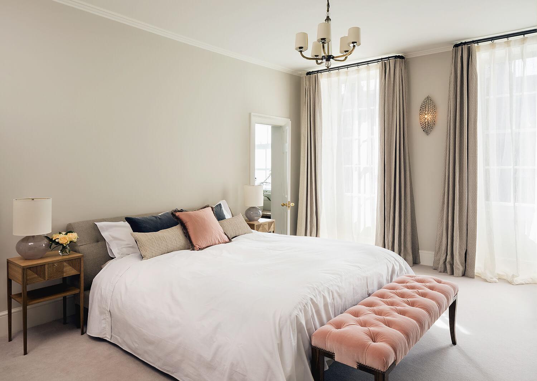 Emily Bizley Interior Design London House Bedroom