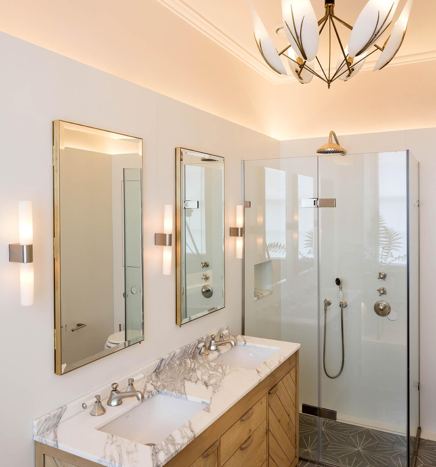 Emily Bizley Interior Design London House ensuite