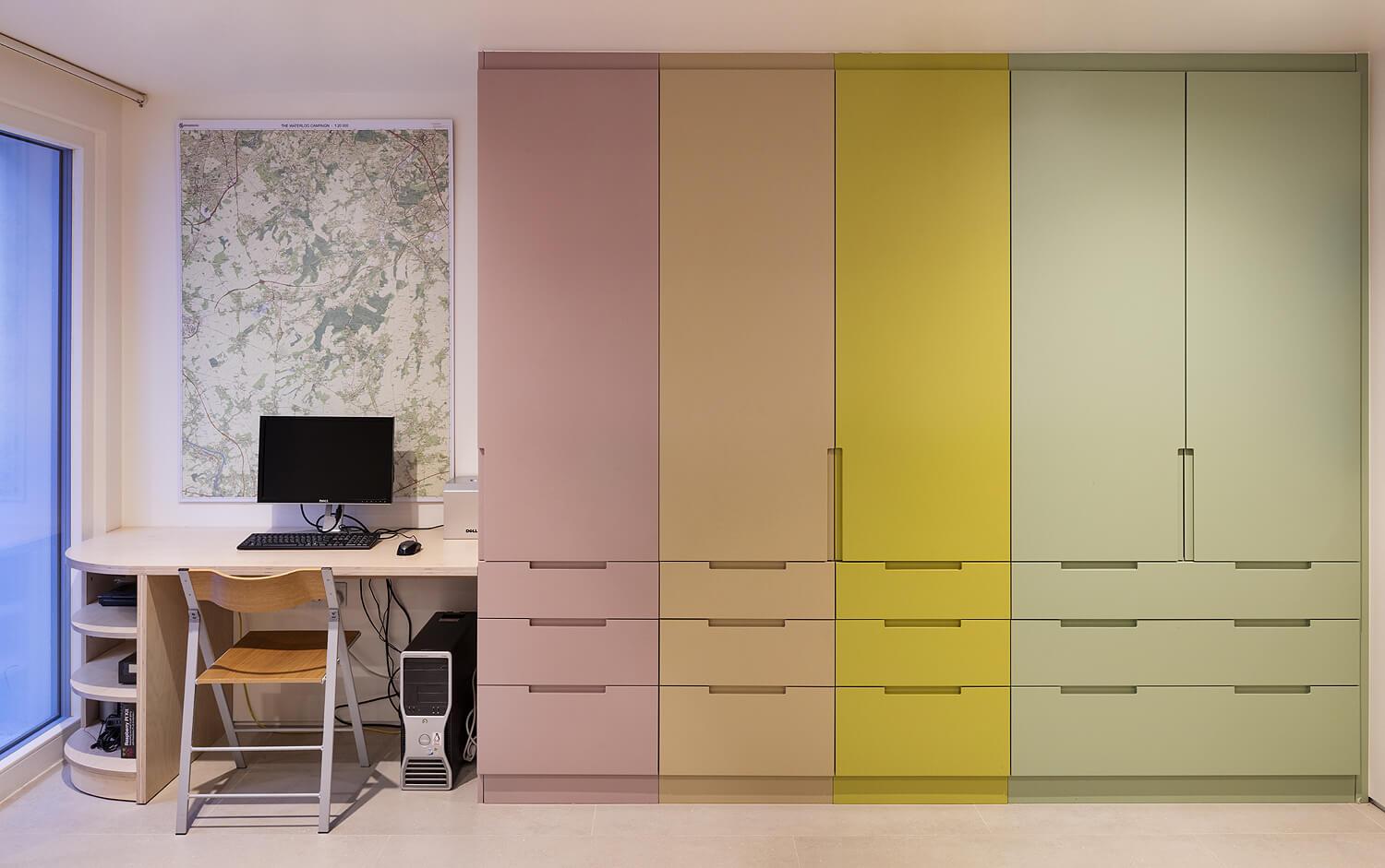Emily Bizley Interior Design London House bespoke storage