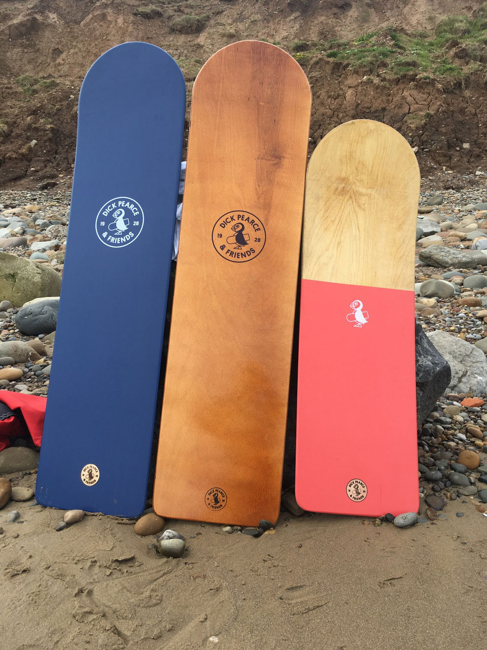Dick Pearce and Friends Family of Bellyboards