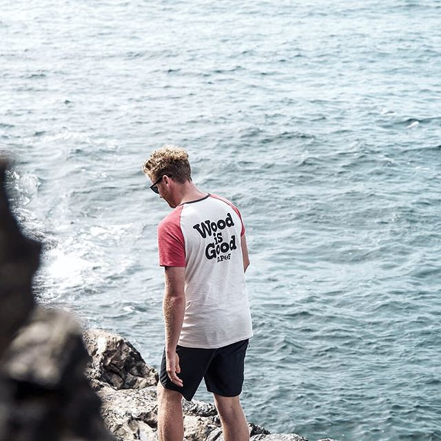 #woodisgood wear yours with pride ✌🏻 last chance for our 40% discount on all our tees. Use the code SLIDE at the checkout #linkinbio #slide #surfclub #dpf #dickpearce #tee #flashsale #newquay #cornwall #menswear #shoplocal