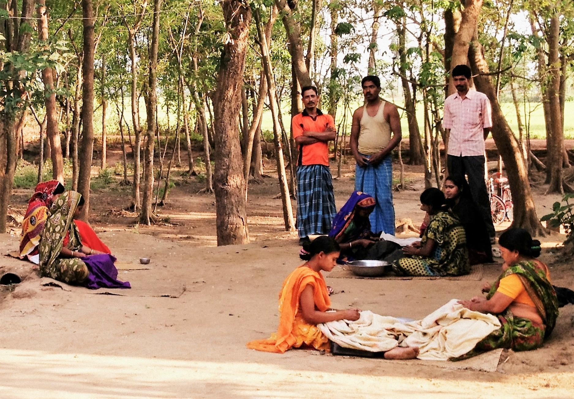 Communal groups of Kantha Artisans