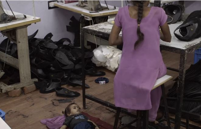 Image taken from 2015 documentary film The True Cost