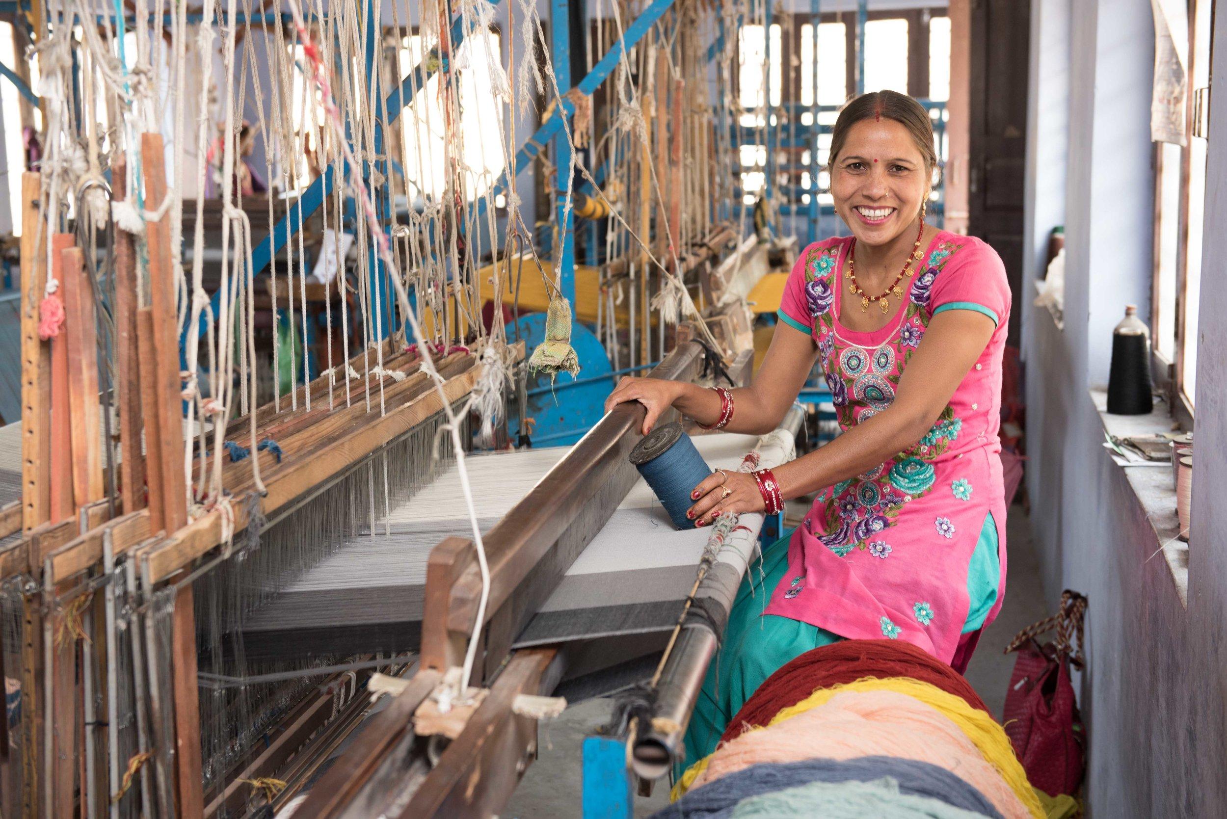 Parwa - Weaving textiles