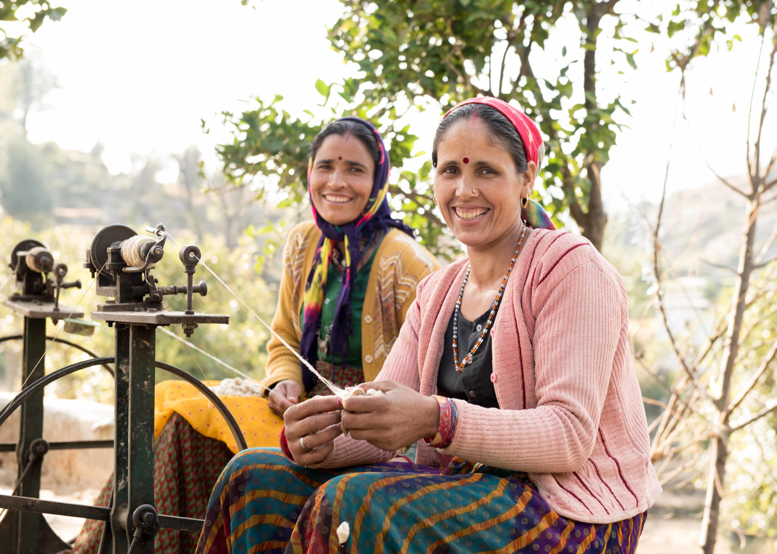 Surma and Sangita - spinners