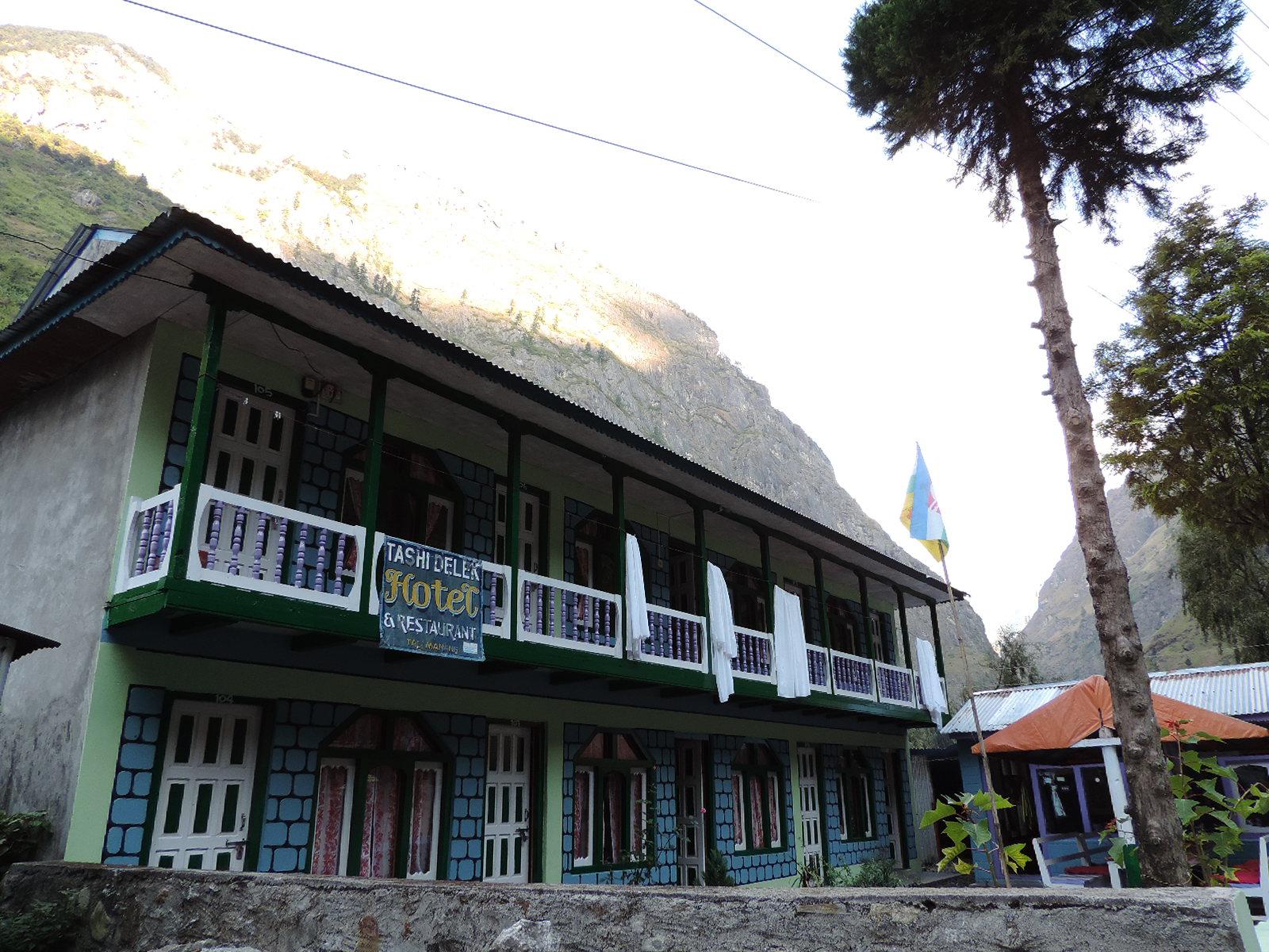 A Traditional Tea-House
