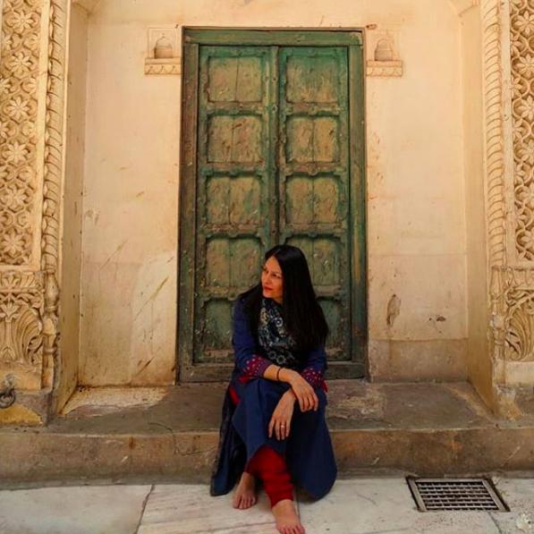 FabIndia outfit - Mehrangarh Fort, Rajasthan