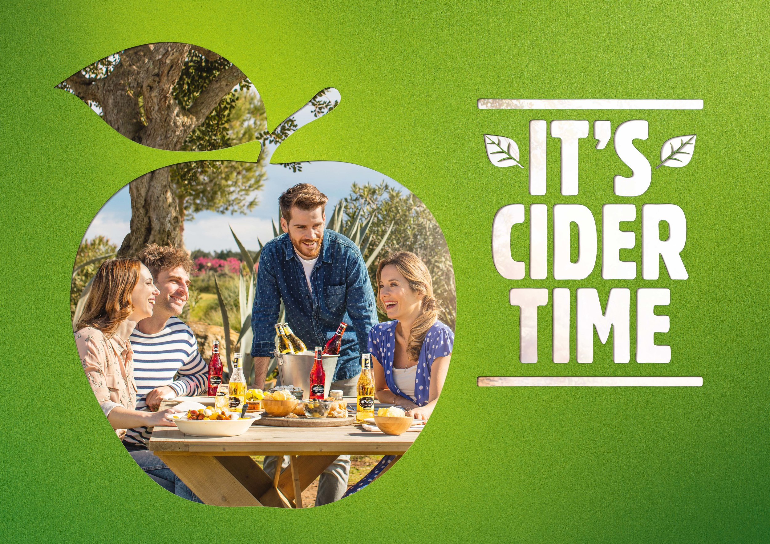 Client - HNK Ciders | Agency - Publicis | Description - EU Print Campaign for emerging markets.