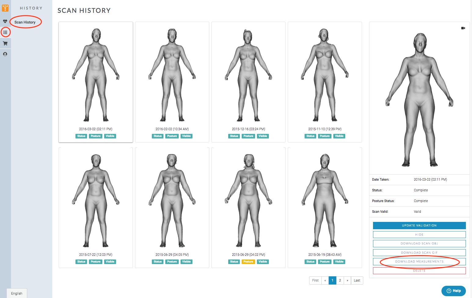 - SEE PROGRESS RIGHT BEFORE YOUR EYES…Repeat the FIT 3D scan to compare your measurements & assess where you are seeing progressFrom building muscle to losing weight, the 3D scans tell you how your body is changing with your health & fitness routine