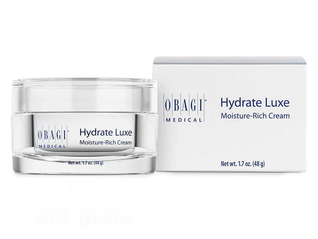 OBAGI HYDRATE LUXE - As part of your Microneedling treatment we offer all patients OBAGI HYDRATE LUXE.This luxuriously rich face cream offers optimum hydration to aid recovery, reduce downtime & condition the skin following treatment.