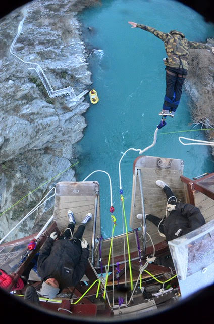 Kawarau bridge bungee