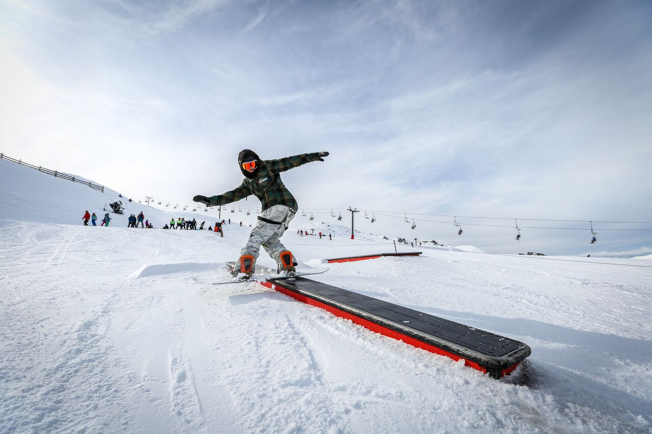Little bucks terrain park - Cardrona