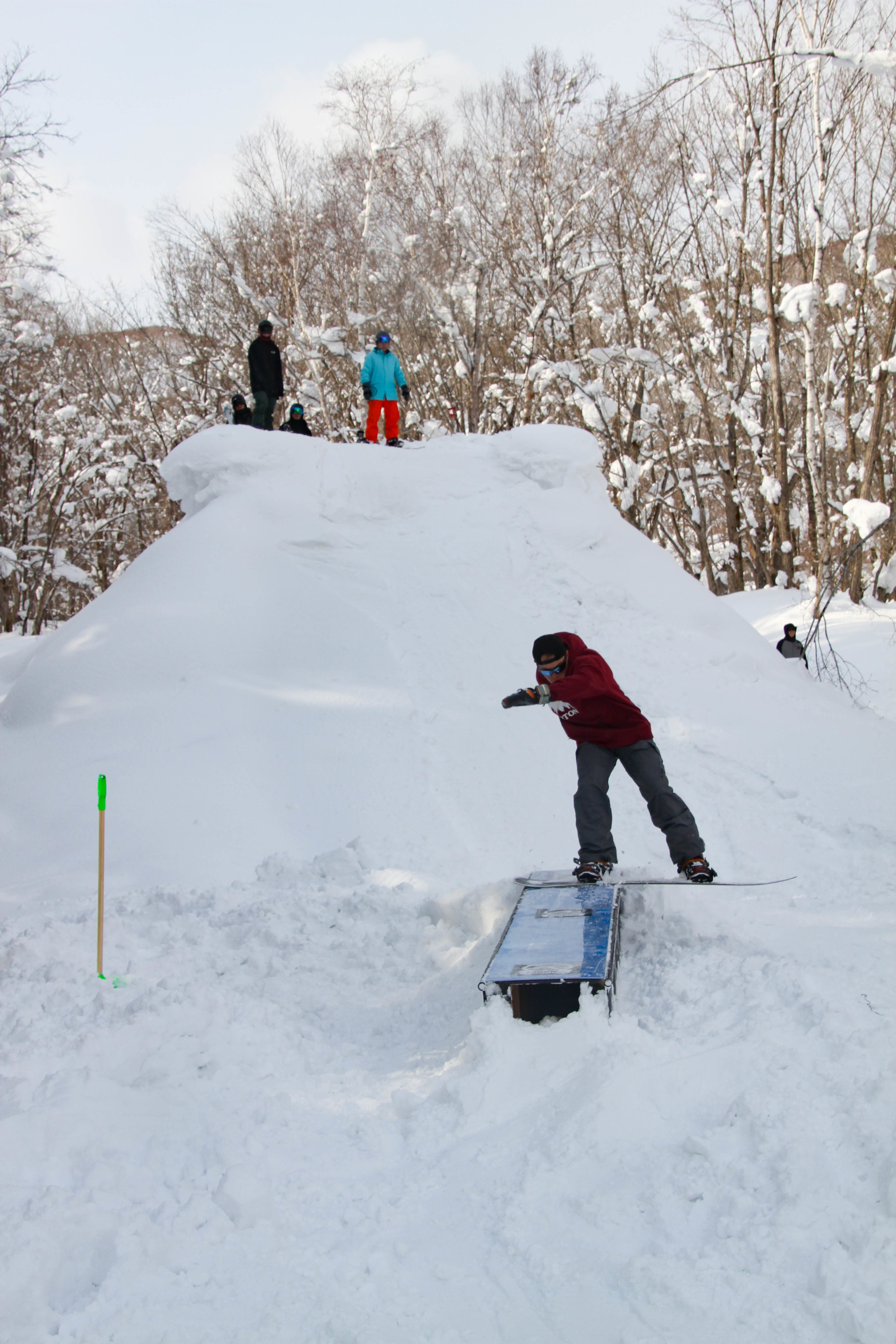 The week two RIDE snowboards rail jam was definitely one of the highlights, it was super progressive and entertaining to watch. -