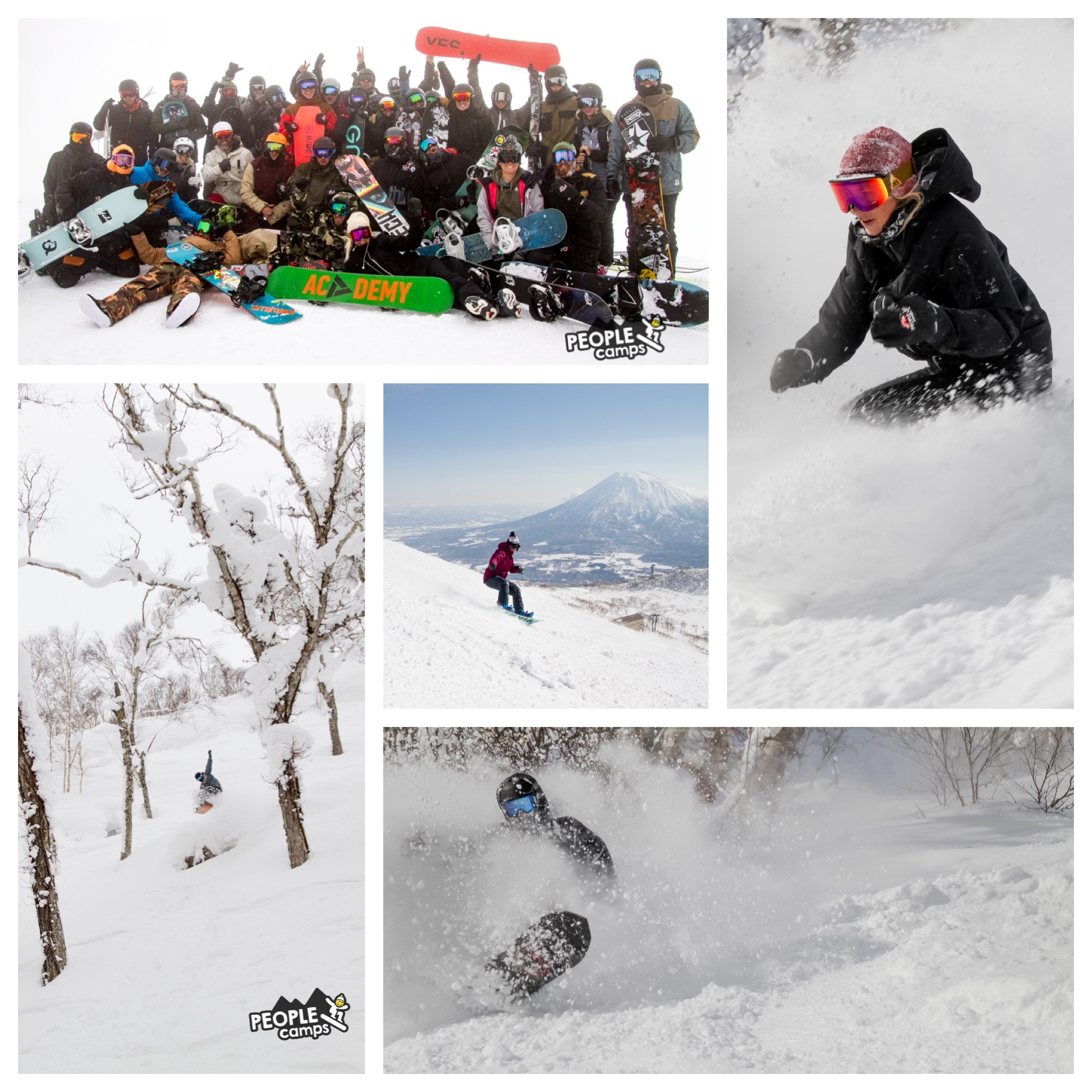 Niseko, Japan 2020 - You have a 2 week or 1 week camp option. If you choose 1 week it can be either of the dates below.Week 1 - 16th Feb - 23rd FebWeek 2 - 23rd Feb - 01st Mar$2100 7 Nights ($500 deposit)$3599 14 Nights ($600 deposit)Book your spot before Sep 1st 2019 and receive our Early Bird Product Bonus-Yuki Threads x People Camps long sleeve-Rad Gloves x People Camps leather mitts-Snuph wax. All natural wax pack