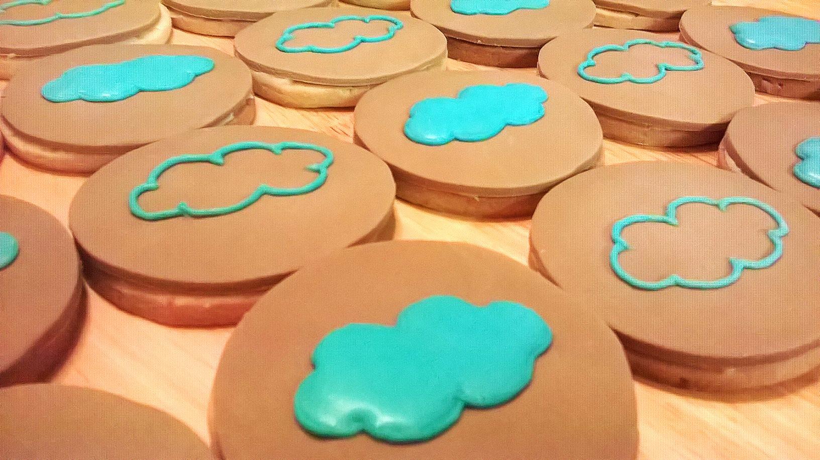 dreambakes branded cookies