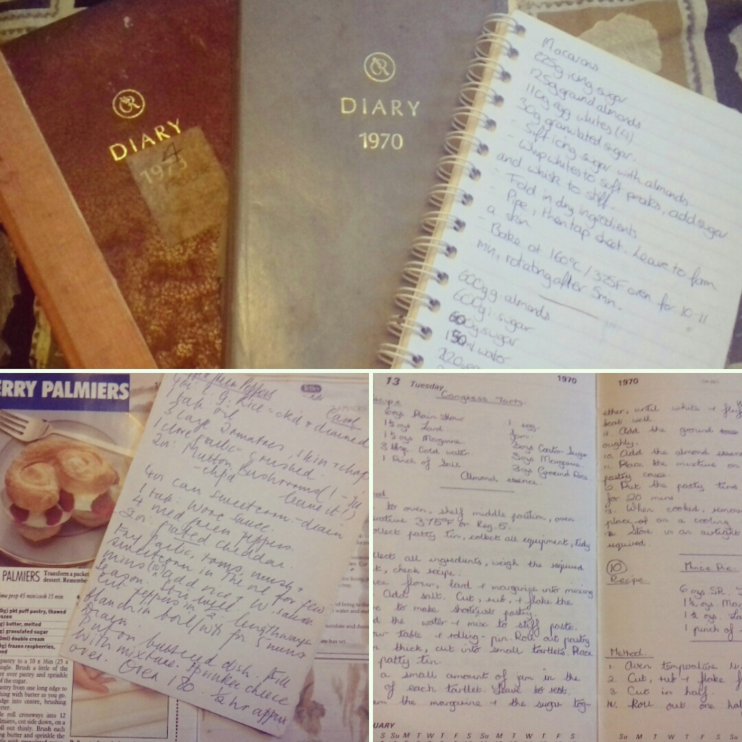 Three generations of recipes carefully collected
