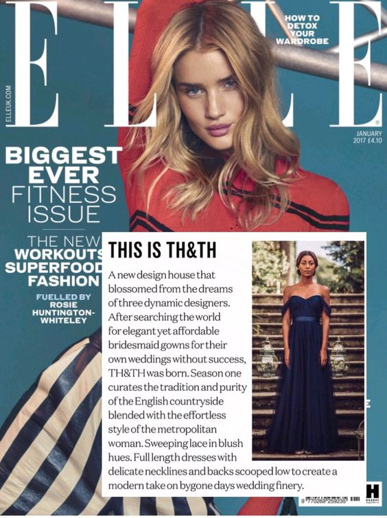 Elle Magazine - January 2017